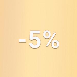 5% за замовлення з сайту