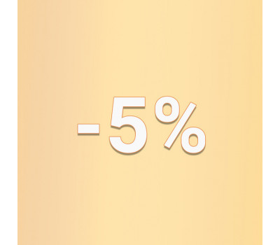 5% на заказ с сайта