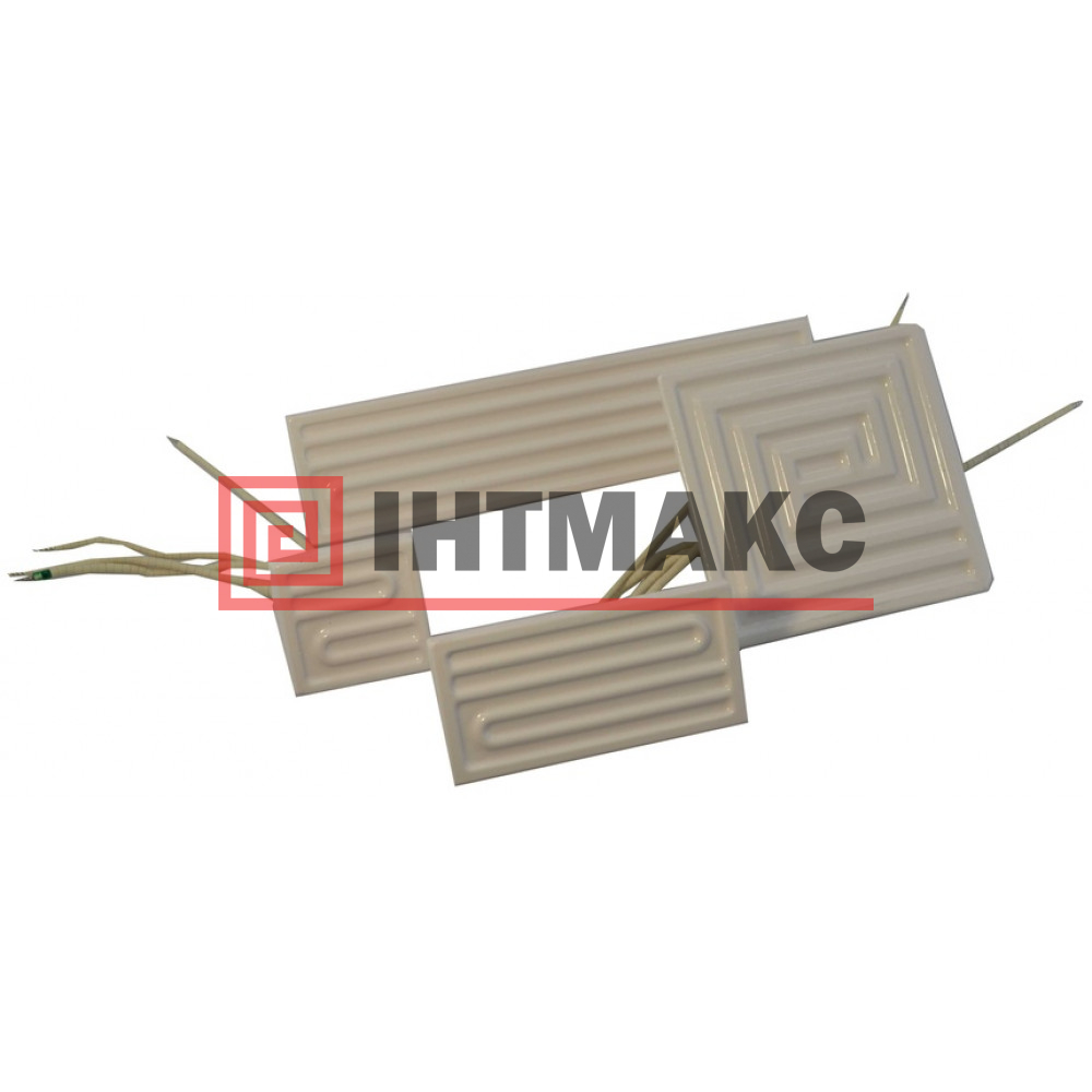 Плоские керамические инфракрасные излучатели ECP-2 длина  122, мощность 125