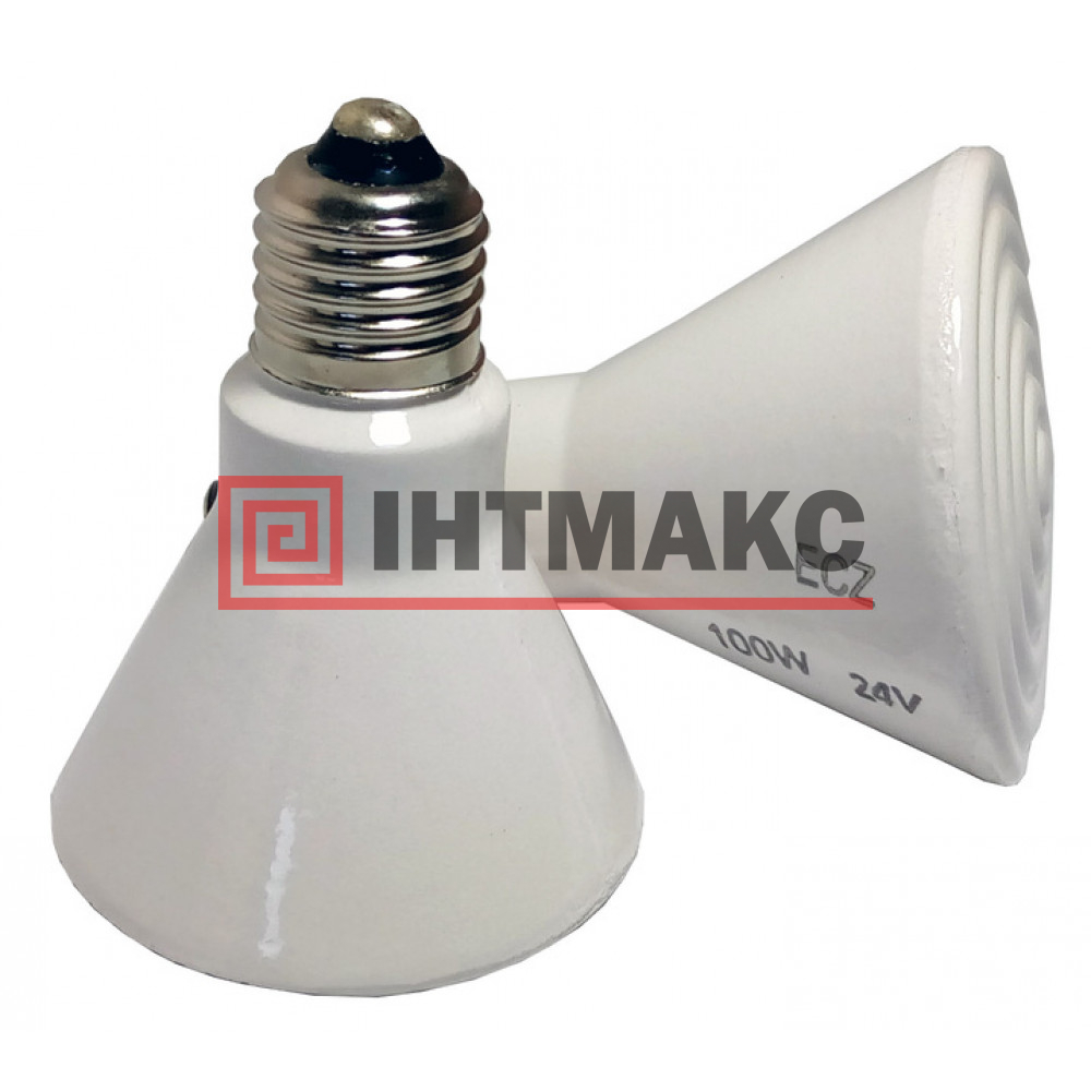 Керамические инфракрасные лампы ECX, диаметр 75, мощность 100