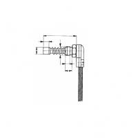 Термопара цилиндрическая с плоским дном. Прижимная пружина
