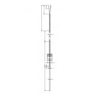 Термопара цилиндрическая с прямоугольным отводом